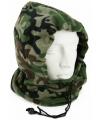Fleece bivakmuts camouflage