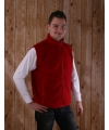 Fleece bodywarmer voor heren