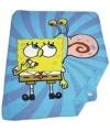 Fleece deken spongebob blauw 150 x 120 cm