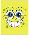 Fleece deken spongebob geel 150 x 120 cm