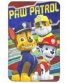Fleecedeken paw patrol rood 150 x 100 cm
