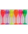 Fluoriserend paars glas