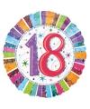 Folie ballon 18 jaar