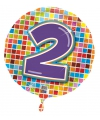 Folie ballon 2 jaar