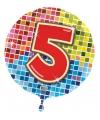 Folie ballon 5 jaar