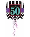 Folie ballon 50 jaar 43 cm