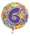 Folie ballon 6 jaar