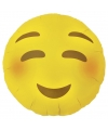 Folie ballon bloos emoticon 46 cm
