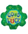 Folie ballon good luck 46 cm
