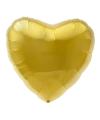 Folie ballon gouden hart