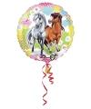 Folie ballon paarden 40 cm