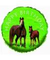 Folie ballon paarden