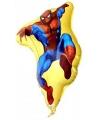 Folie ballon spiderman vorm 58 cm