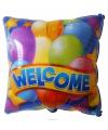 Folie ballon welkom