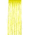 Folie deurgordijn geel 244 x 91 cm