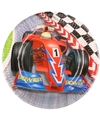 Formule 1 kinderfeest bordjes 6 stuks