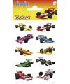 Formule 1 stickers 3 vellen