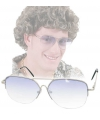 Foute bril met licht getinte glazen