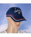 France baseball cap blauw