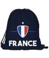 Frankrijk rugtas met rijgkoord