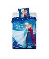 Frozen anna en elsa dekbedovertrek meisjes 140 x 200 cm