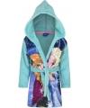 Frozen badjas blauw voor kinderen