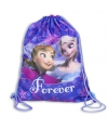 Frozen gymtas paars