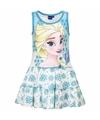 Frozen jurkje blauw voor meisjes