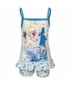 Frozen korte pyjama wit blauw voor meisjes