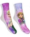Frozen meisjes sokken 2 pak roze