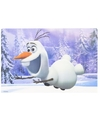 Frozen olaf 3d placemat type 2
