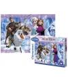 Frozen puzzel 104 stukjes