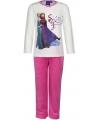 Frozen pyjama wit met roze