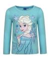 Frozen t shirt elsa blauw