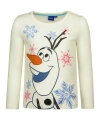 Frozen t shirt olaf wit