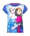 Frozen t shirt paars voor meisjes