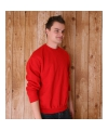 Fruit of the loom sweater rood