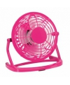 Fuchsia roze mini usb ventilator