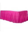Fuchsia roze tafelrok