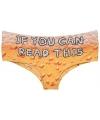 Fun ondergoed bier print voor dames