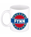 Fynn naam koffie mok beker 300 ml
