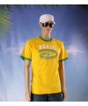 Geel heren shirt brazilie