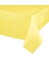 Geel tafelkleed 274 x 137 cm