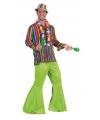 Gekleurd feest hemd voor heren