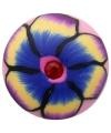 Gekleurde bloemen chunk 1 8 cm