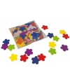 Gekleurde bloemetjes confetti 250 gram