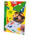 Gekleurde dierentuin autoraam stickers