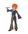 Gekleurde disco jumpsuit voor meisjes