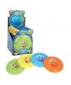 Gekleurde frisbee met smiley