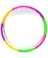 Gekleurde hoela hoep 64 cm